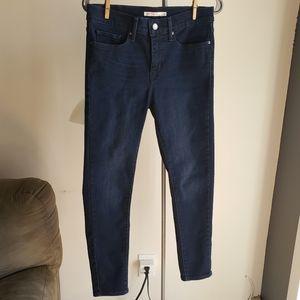 Levi's 311 Shaping Skinny Jeans Dark Blue